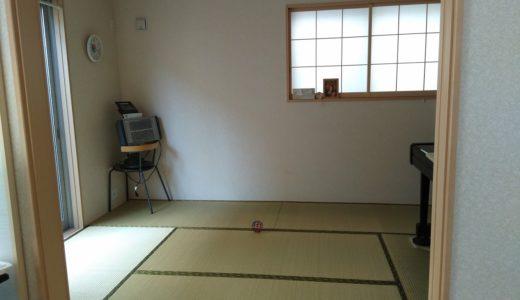 和室にカーペット敷いてみました。【ダニ対策も】